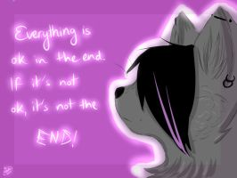 It's not the end. by xXMiNaRoXx