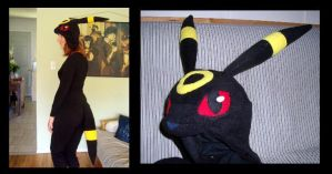 Umbreon Set - Commission by fireflytwinkletoes