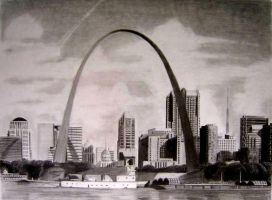 St. Louis Arch by Y-LIME