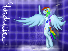 After Show Shower by xHardwirex