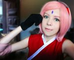 Sakura Haruno (The Last) by GisaGrind