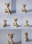 Anise puppy figure (sculpture) by Akusuru