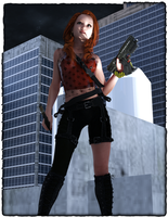Karone's Cosplay: The Zombie Hunter by KaroneRys