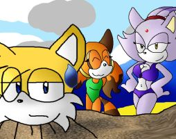 Contest pic: poor tails by TeamBrux