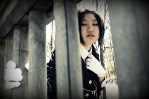 APH Black China - Caged by HoneydewLoveCosplay