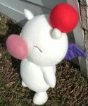 Kingdom Hearts Moogle Plush - 2 by daggerhime