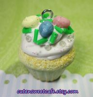 Custom Easter Scented Cupcake by pinknikki