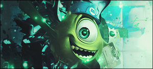 monsters inc mike tag by ketg