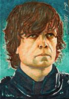 The Imp (Tyrion Lannister sketch card) by therealbradu