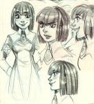 OC Sketches - La Notte di Waitfor by Myed89