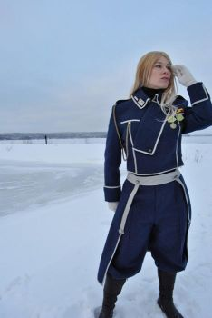 Mira Olivier Armstrong from Full Metal Alchemist by Roracosplay