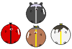 -REQUEST- 4 Pooko'd OCs for TPPR10 by Sergy92