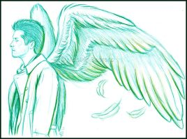 Castiel - Falling Away by Cataclysm-X