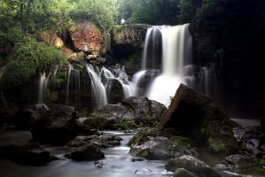 Holly Falls revisited. by sweatangel