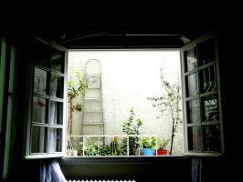 through your window by LuckyPageTurner