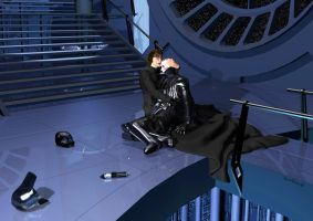 Darth Vader and his son Luke by denisogloblin
