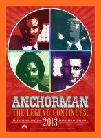 Anchorman - The Legend Continues by JohnnyMex