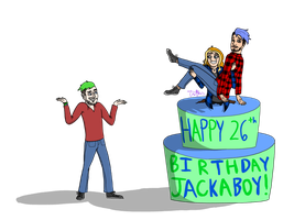 Happy 26th Birthday Jack!!! by lisuje