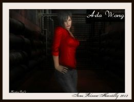 RE6 Ada Wong 2 by IamRinoaHeartilly