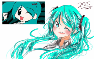 Hatsune Miku Improvement- by Xeru-xesia