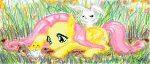Fluttershy by dzetaWMDunion