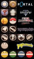 Video Game pins by invader-gir