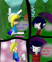 Adventure Time Comic- Parte 2 by LittlePanda3