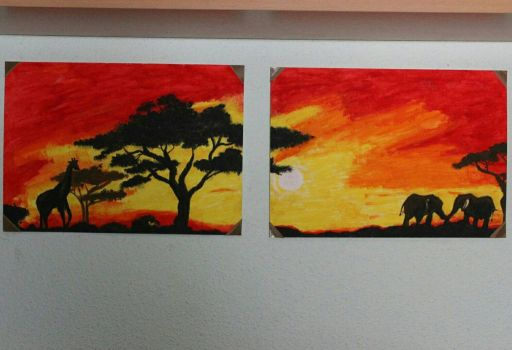 Memories of Africa  by Esther24