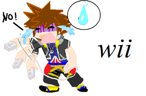 wii sora by malerfique