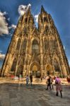 Facade of Cologne cathedral by Jousto