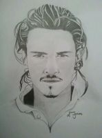 Orlando Bloom {for sale} by sjartists