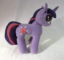 Twilight Sparkle Plush Right Side by sockmuffin-studios