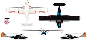 Expendables Consolidated PBY Catalina by bagera3005