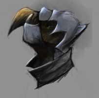 Armored Vulture Concept Head by Tartauris