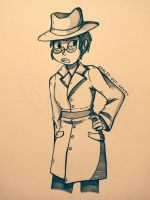 [Request] Detective Crocker  by Spaced-Out-Xandy