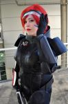 Commander Shepard - Mass Effect by Kibamarta