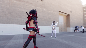 GIF LA GIF - Kill La Kill Cosplay by Khainsaw