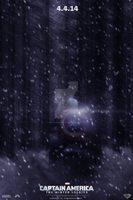 Captain America: The Winter Soldier Teaser Poster by DiamondDesignHD