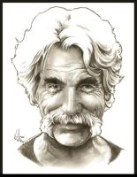 Sam Elliot by choffman36
