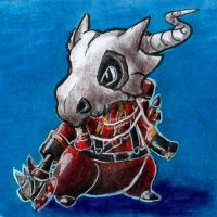Cubone Pyro by Lighiting-Dragon