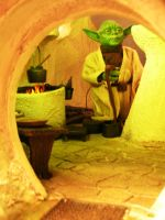 Yoda and His Hut 4 by BLUE-PROMETHEUS