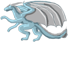 Crying Dragon by ShattenWolf