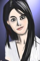 Woman face study n22 by lv888