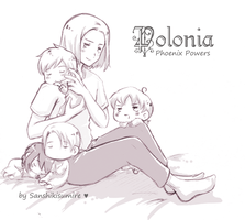 Polonia - family nap by Sanshikisumire