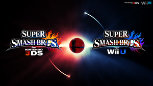 Super Smash Bros. Wii U/3DS Logo Wallpaper #46 by TheWolfBunny