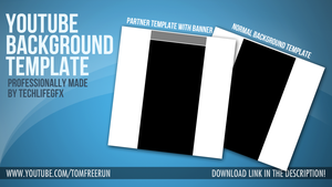 YouTube Background Templates 2012 - Download! by TechlifeGFX