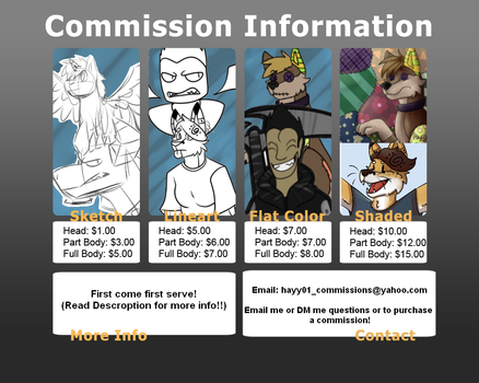 Paypal Commissions Are Open! by hayy1