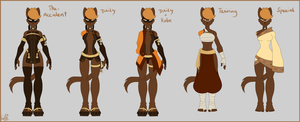 Fayme's outfits *updated* by WishingStarInAJar
