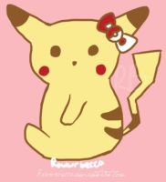 Hello Pikachu by Beccadex