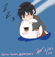 sweet dream kiku ^^ by rafika-farhani